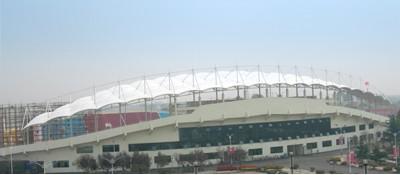 山东曲阜体育场膜结构工程