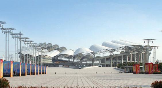 昆山体育场膜结构工程