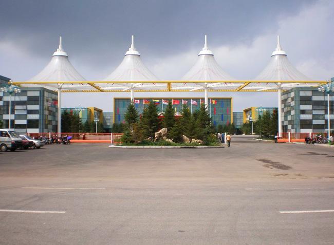 沈阳远大集团入口ETFE膜结构工程